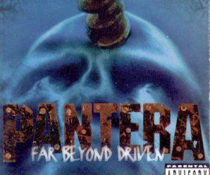 Pantera – 1994 – Far Beyond Driven